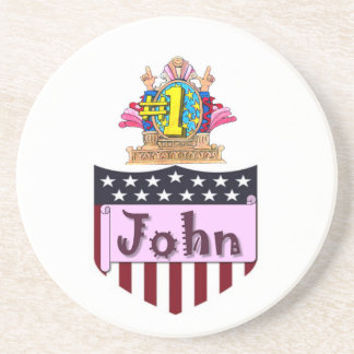 Porta-copos Número um John