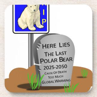 Porta-copos O aquecimento global, RASGA o urso polar 2050
