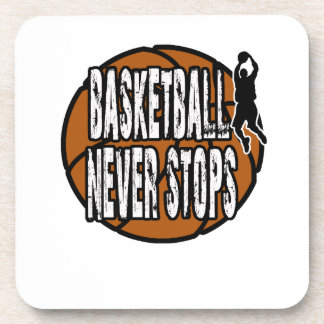 Porta-copos O basquetebol nunca para