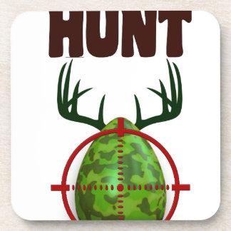 Porta-copos o design engraçado da páscoa, nascer para caçar