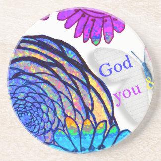 Porta-copos O deus ama-me o e!