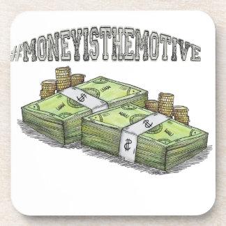 Porta-copos O dinheiro é a coleção a motor