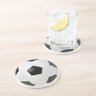Porta-copos O futebol do futebol ostenta a bola