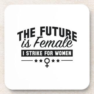Porta Copos O futuro é fêmea