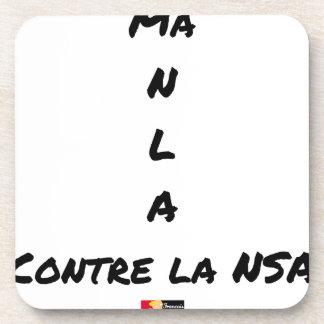 PORTA-COPOS O MEU N L TEM CONTRA O NSA - JOGOS DE PALAVRAS