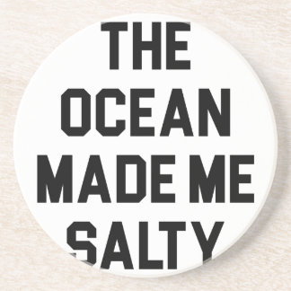 Porta-copos O oceano fez-me salgado