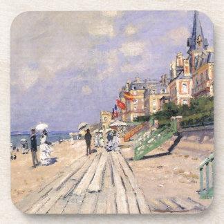 Porta Copos O passeio à beira mar em Trouville Claude Monet