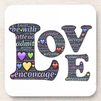 Porta Copos O significado do amor
