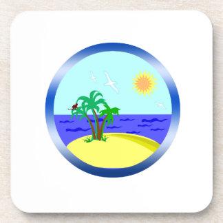 Porta Copos Oceano e luz solar