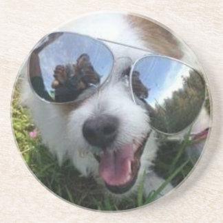 Porta-copos Óculos de sol no FUTURO BRILHANTE do cão para MIM
