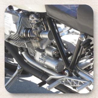 Porta Copos Opinião lateral cromada motocicleta do detalhe do