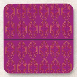 Porta Copos Ornamento do roxo da GOMA-ARÁBICA. Produtos