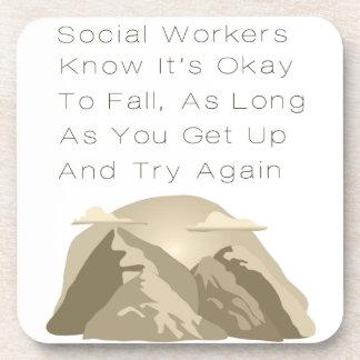 Porta Copos Os assistentes sociais sabem inspirador
