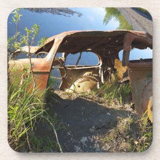 Porta-copos Os carros velhos de Eklutna Tailrace