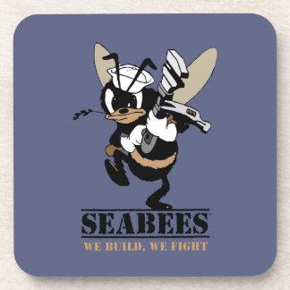 Porta Copos Os Seabees que nós nos construímos lutam a porta