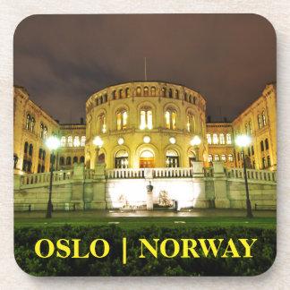 Porta-copos Oslo, Noruega na noite
