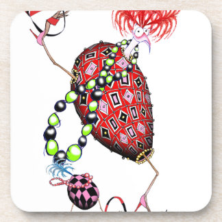 Porta Copos Ovo fabuloso do rubi vermelho de Tony Fernandes