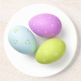 Porta-copos Ovos da páscoa no branco