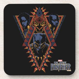 Porta Copos Painel tribal dos guerreiros da pantera preta |