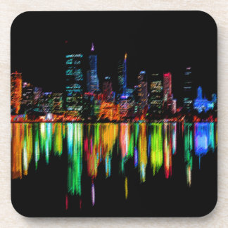 Porta-copos Panorama da cidade