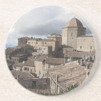 Porta-copos Panorama da vila de Volterra, Toscânia, Italia
