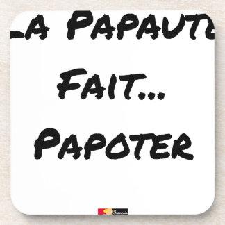 Porta Copos PAPAUTÉ FAZ TAGARELAR - Jogos de palavras