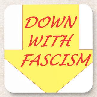 Porta Copos Para baixo com fascismo