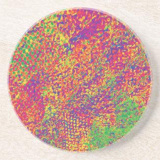 Porta-copos Para o amor das cores - Psychadelic