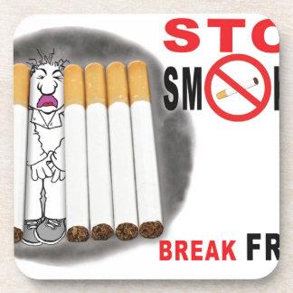 Porta Copos Pare de fumar lembretes - não mais bumbuns