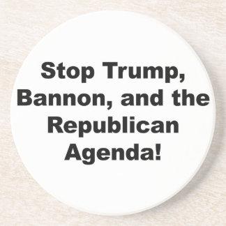 Porta-copos Pare o trunfo, o Bannon e a agenda republicana