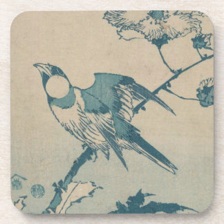 Porta-copos Pássaro azul