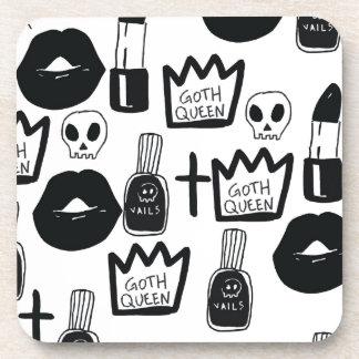 Porta Copos pastel goth, queen, horror, terror, gothic, femini