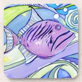 Porta-copos Peixes de Surfin
