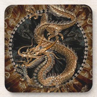 Porta-copos Pentagram do dragão