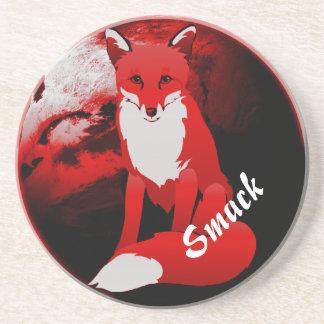 Porta copos personalizada design do arenito do Fox