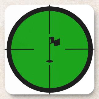 Porta Copos Pin do golfe nos Crosshairs