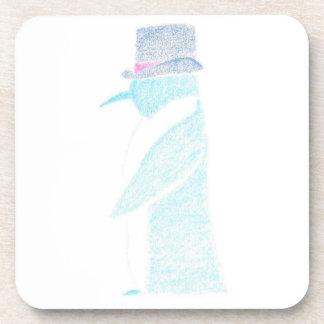 Porta-copos Pinguim em um chapéu alto