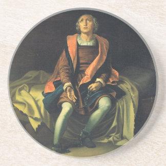 Porta-copos Pintura de Cristóvão Colombo por Antonio de