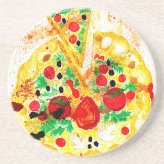 Porta-copos Pizza saboroso