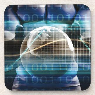 Porta Copos Plataforma da segurança do controlo de acessos