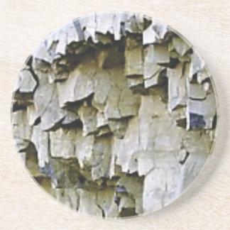 Porta-copos plissados aleatórios da rocha