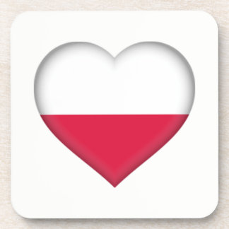 Porta copos polonesa do amor