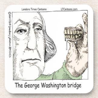 Porta Copos Ponte de George Washington & presente engraçado
