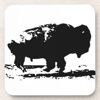 Porta Copos Pop art Running do bisonte do búfalo