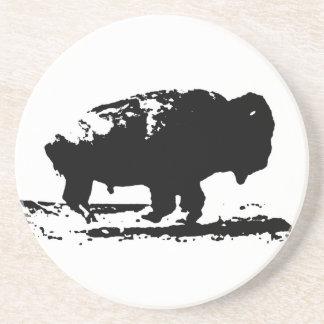 Porta-copos Pop art Running do bisonte do búfalo