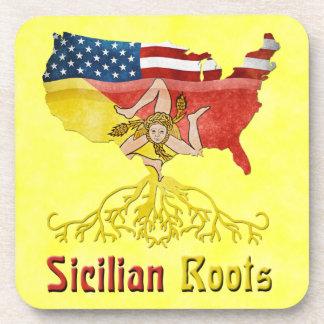 Porta Copos Portas copos americanas sicilianos da cortiça das