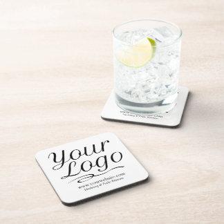 Porta-copos Portas copos plásticas quadradas com logotipo de