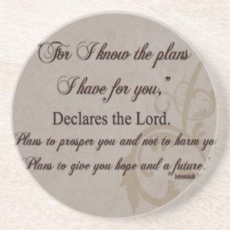 Porta-copos Presente da escritura do 29:11 de Jeremiah