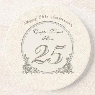 Porta-copos Presentes baratos personalizados do aniversário 25