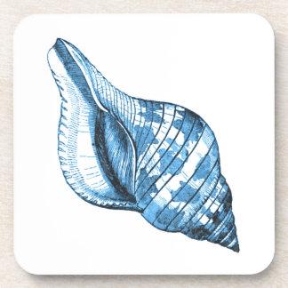 Porta Copos Presentes litorais náuticos do azul da praia do